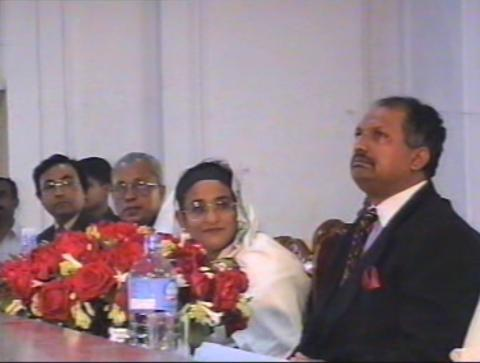 Hon'ble Prime Minister Sheikh Hasina is inaugurating JATI at Old High Court Building in 1996